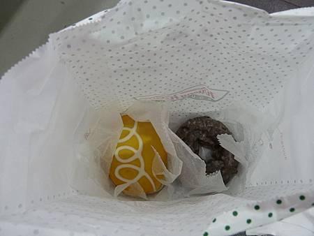 檸檬和巧克力口味