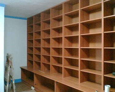 整面牆書櫃