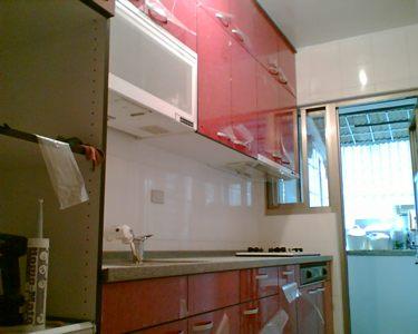 完工的廚房