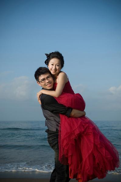 39. 龍門海邊 抱抱