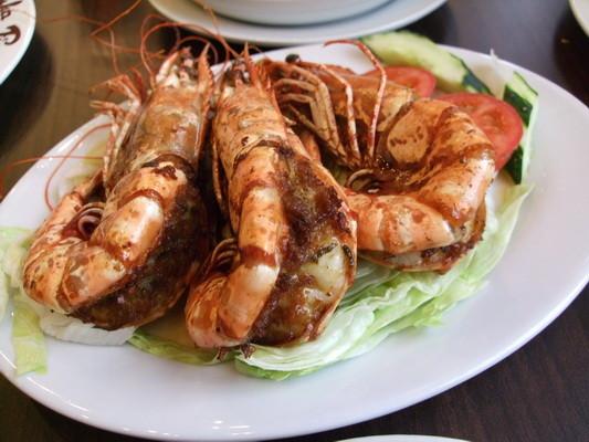 83.木偶葡國餐廳-蒜茸大蝦-1