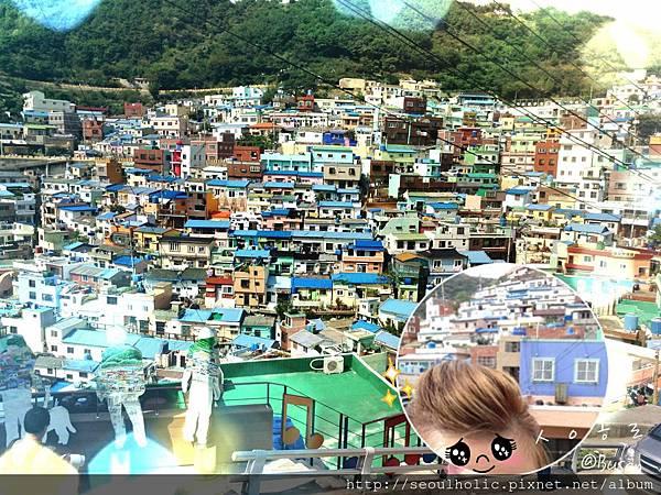 020_在FB分享到甘川文化村一遊的照片時_有好多網友詢問怎麼去