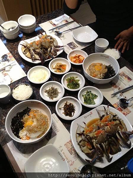 024_華麗漬螃蟹搭配的華麗小菜們