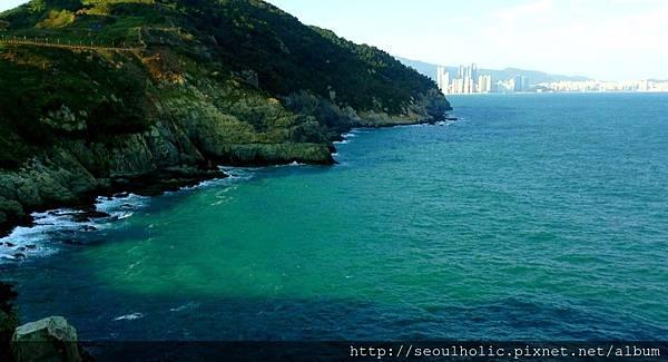 019_二妓台下碧綠的海水