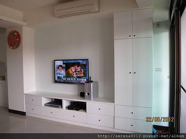 13_客廳電視高低櫃