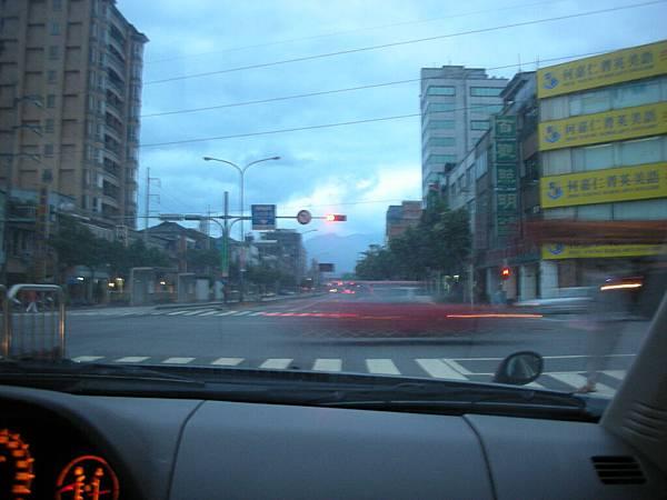 清晨的台北街頭