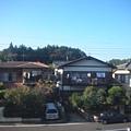 成田express沿線的住家風景