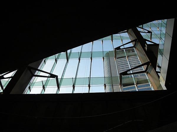 上飯店前電扶梯的風景2