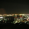 caretta汐留46樓夜景(隔窗拍的,那條橋就是台場)