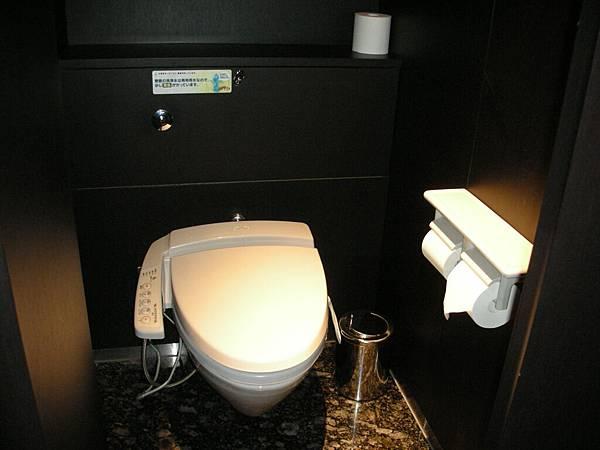 caretta汐留的洗手間……為甚麼這麼舒適?