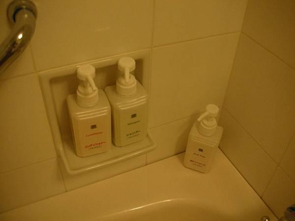 沐浴用品都是資生堂