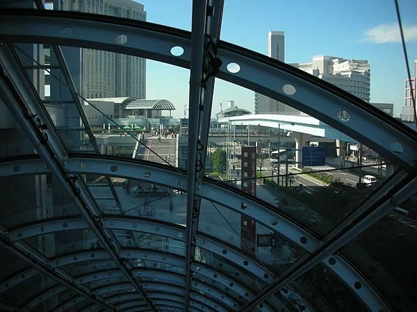 富士電視台的扶梯