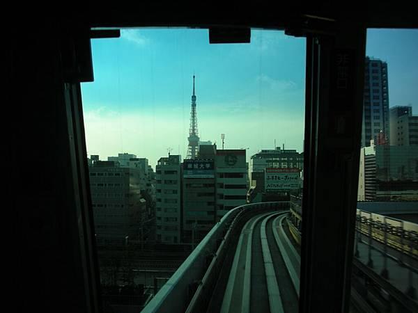 喔!看到東京鐵塔了