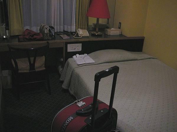 第二、三天的旅館好小……