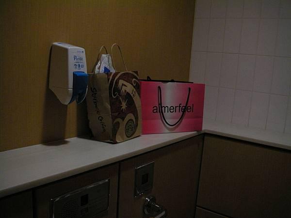 大到誇張的伊勢丹百貨洗手間