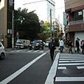旅館外的街頭
