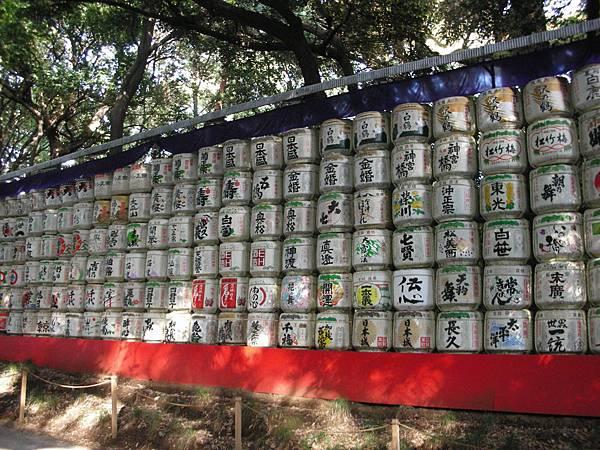 日本各地進貢明治天皇的酒