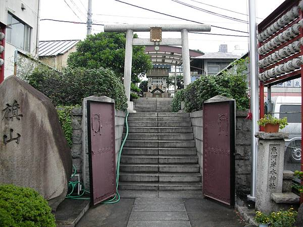路過水神廟