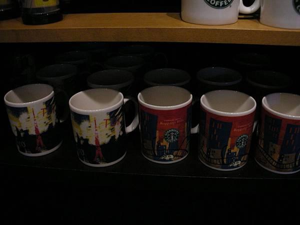 東京杯和六本木HILLS限定杯……可惜沒錢了買不起六本木杯