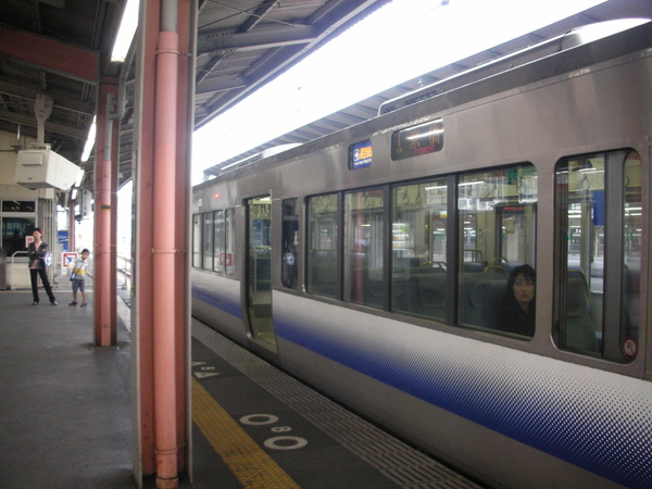 旅程中最常坐到的電車