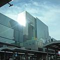 才9點的大阪站外