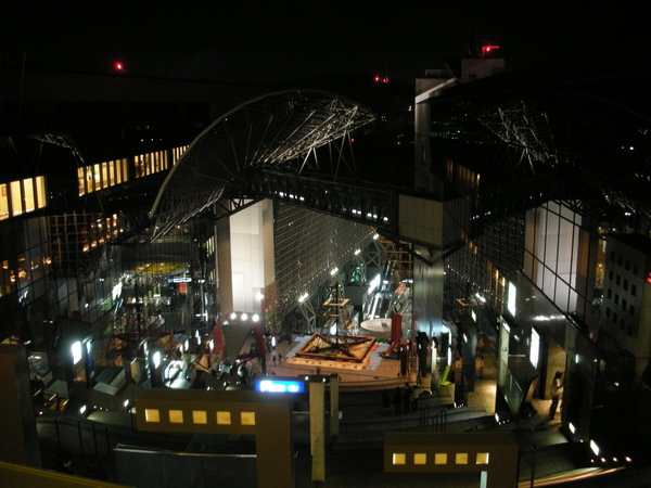 京都車站11樓,懼高症者不適來此地