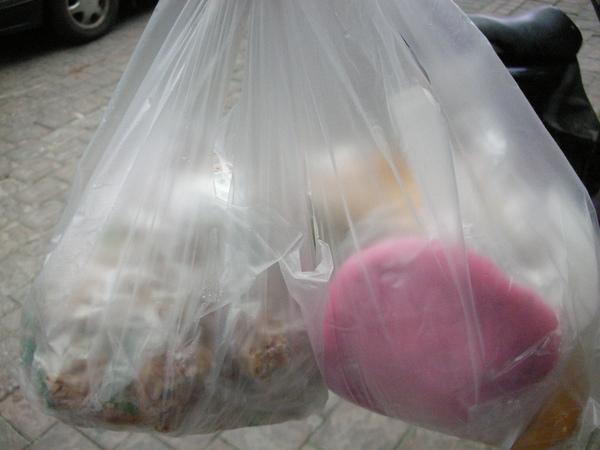 買了一大袋