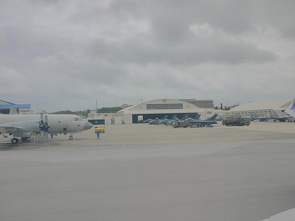 沖繩機場可以看到美軍軍機