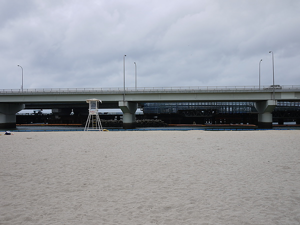 是誰決定在沙灘前面蓋橋的?請他謝罪吧