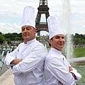 尚雷諾、邁克爾‧揚在《王牌大主廚》裡PK「吵」出料理
