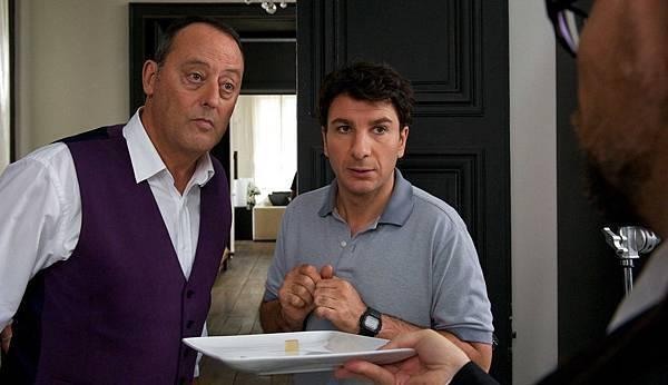 尚雷諾、邁克爾‧揚在《王牌大主廚》裡試吃分子料理