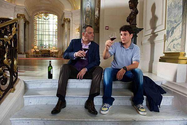 尚雷諾、邁克爾‧揚在《王牌大主廚》裡嘗遍美酒佳餚