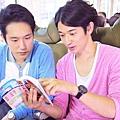 松山研一(左)與瑛太(右)在《幸福特快車》片中飾演因鐵道而相識的好友。