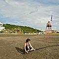 05_《戀戀海灣》工作照_拍攝幾乎都在高溫的海邊,演員與工作人員都吃足苦頭。