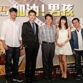 《加油!男孩》導演及演員出席首映記者會為《加油!男孩》集氣.jpg