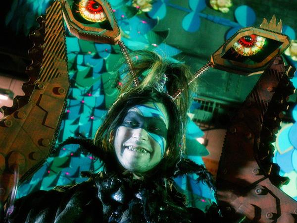 繪本裡的人物-- 螯蝦魔人