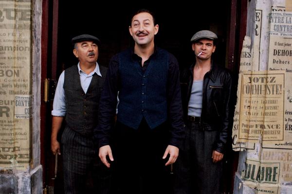 (右至左)Clovis Cornillac、Kad Merad、Gérard Jugnot