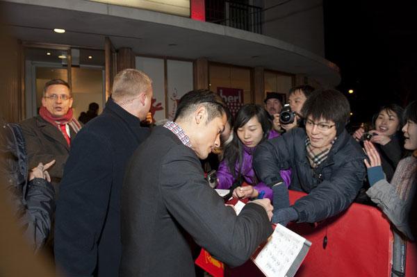 2月-柏林影展: 郭富城親切身影