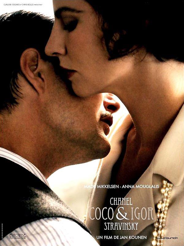 Coco Chanel & Igor Stravinsky_法國版海報