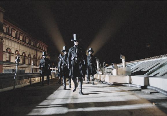 "photo01_倫敦的未來平行世界""其時城""的場景"