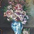 20140305_單項特惠課程-仿油彩技法~玫瑰瓶花靜物02