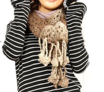 Amy手工毛線編織-毛帽/毛圍巾