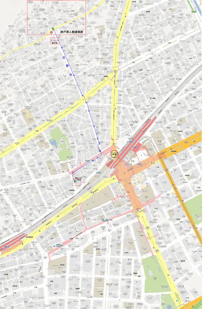 三宮旅遊大地圖