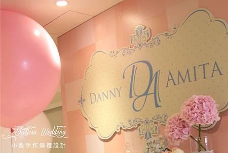 舞台LOGO 婚禮佈置 粉色婚禮 晶宴會館