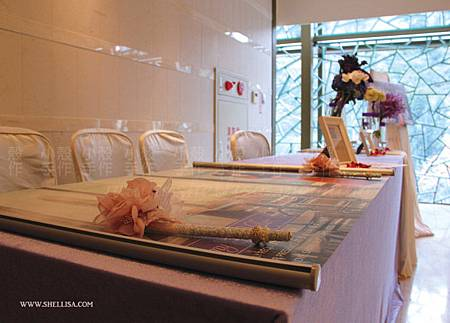 婚紗照卷軸 故宮晶華婚禮佈置