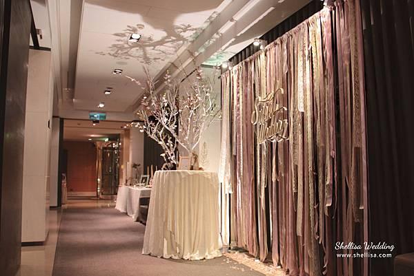 ribbon themed wedding