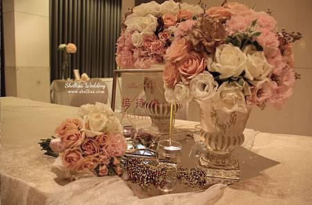 婚禮佈置- 羅馬花柱