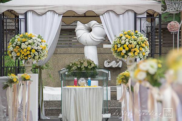 白綠黃證婚花柱