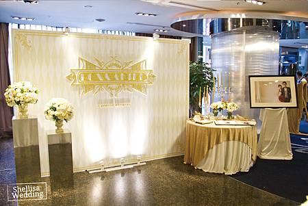 彭園會館 白金色婚禮
