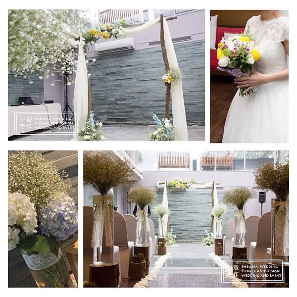 陽明山中國麗緻婚禮佈置